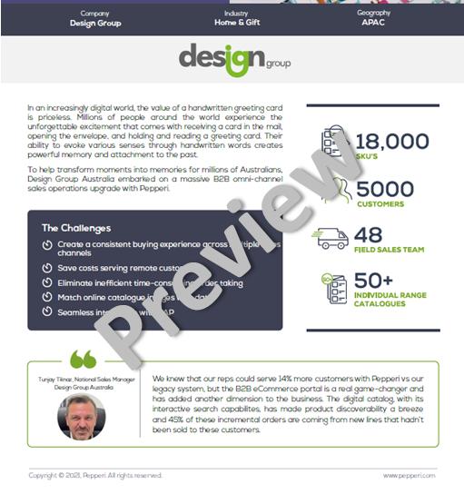Access the Design Group Australia Case Study