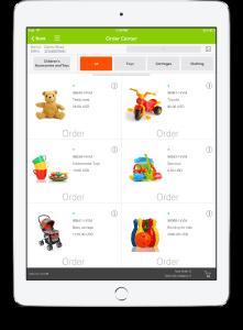 B2B e-commerce mobile app