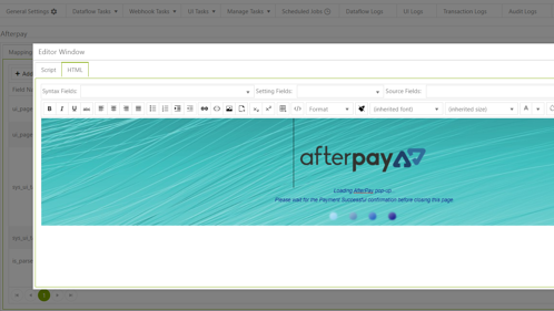 Afterpay screenshot